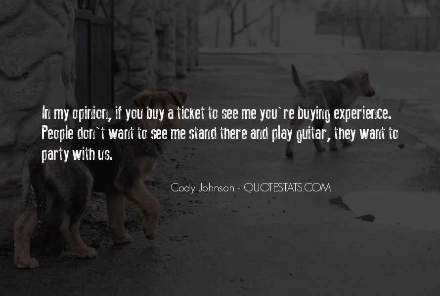 Cody Johnson Quotes #175215
