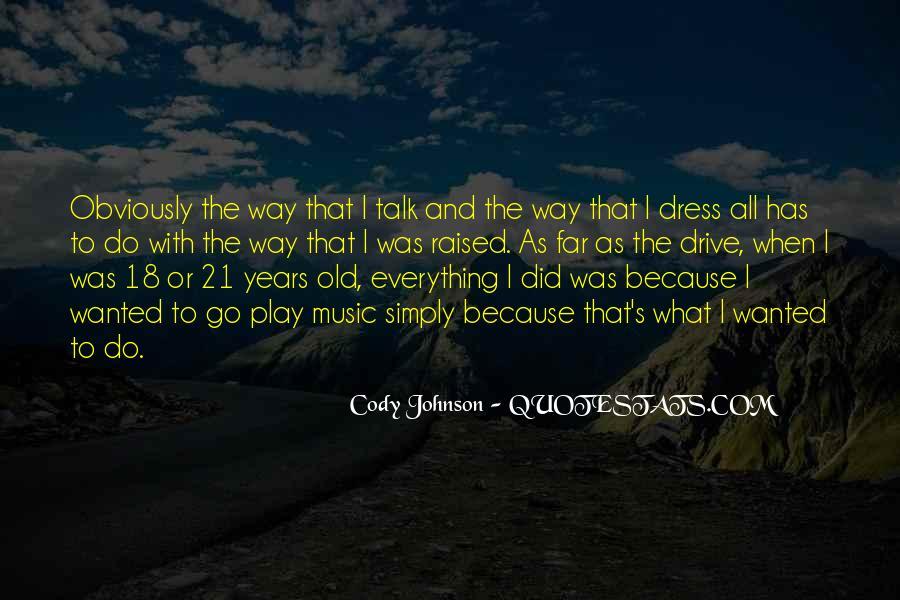 Cody Johnson Quotes #183884