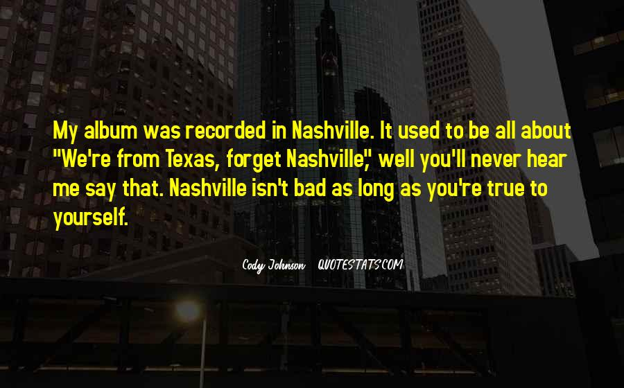 Cody Johnson Quotes #331742