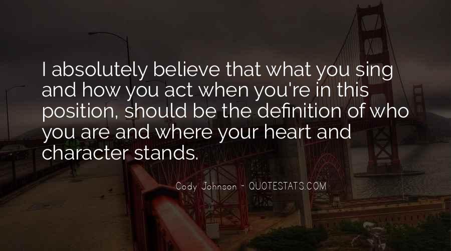 Cody Johnson Quotes #989911
