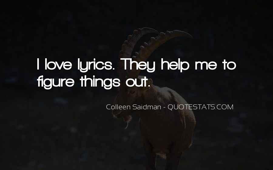 Colleen Saidman Quotes #1715954