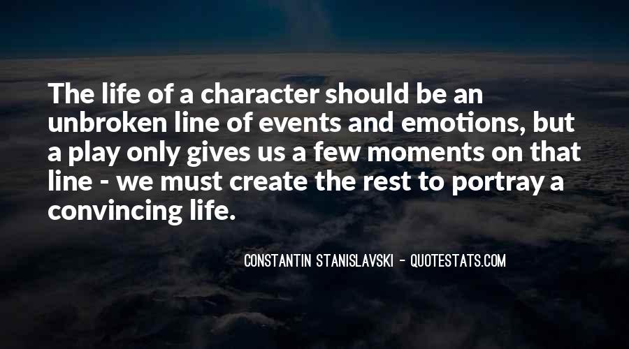 Constantin Stanislavski Quotes #1104283