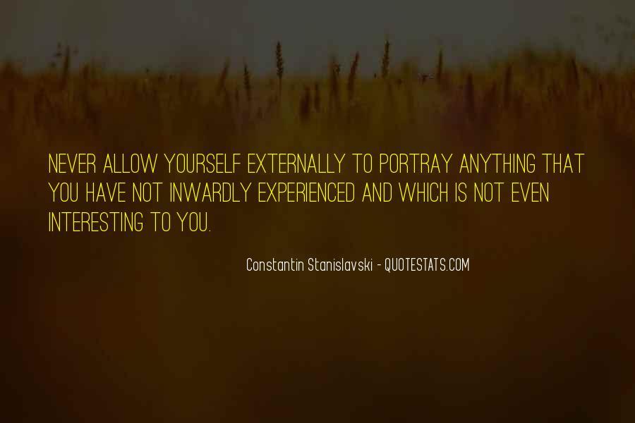 Constantin Stanislavski Quotes #1285654