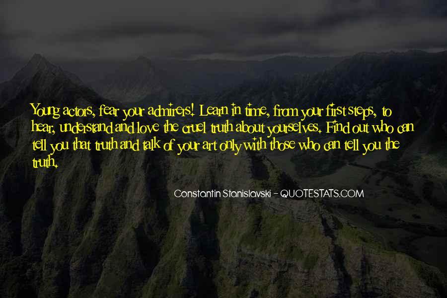 Constantin Stanislavski Quotes #378368