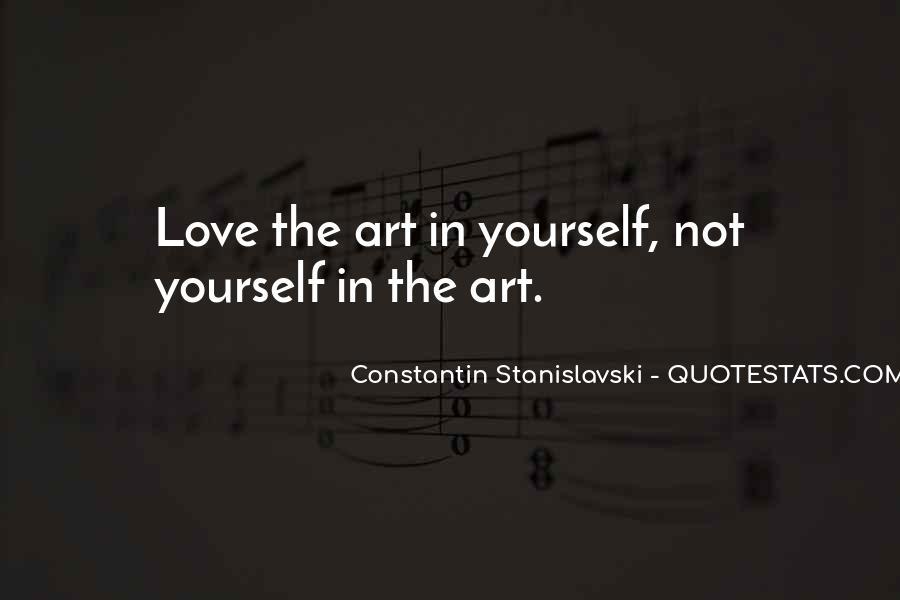 Constantin Stanislavski Quotes #547421