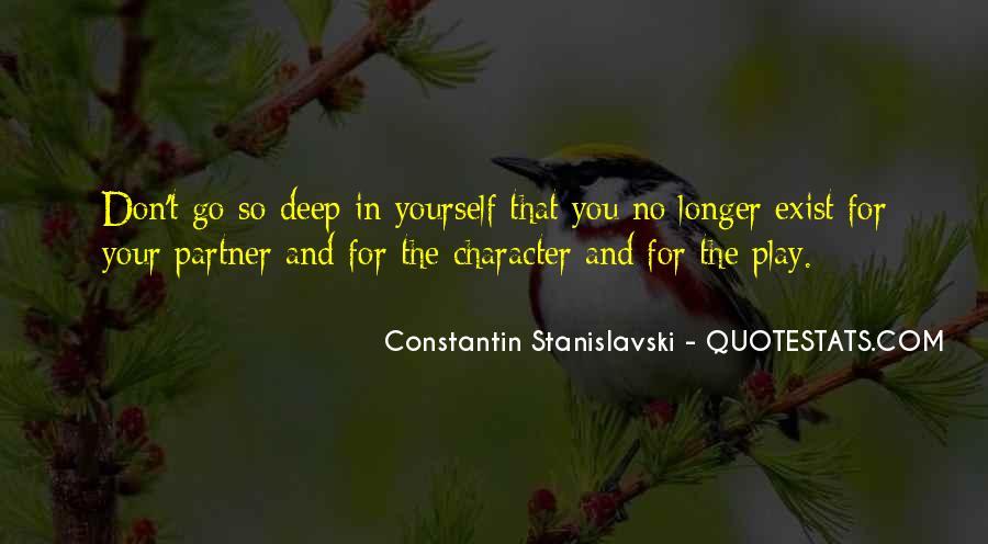 Constantin Stanislavski Quotes #66504
