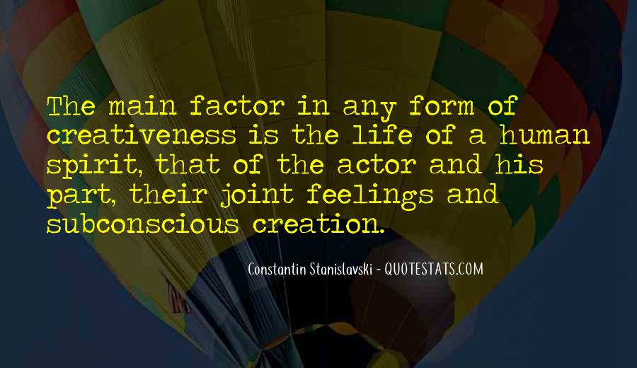 Constantin Stanislavski Quotes #807118