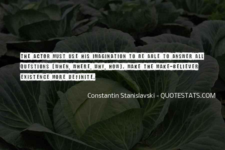 Constantin Stanislavski Quotes #92067