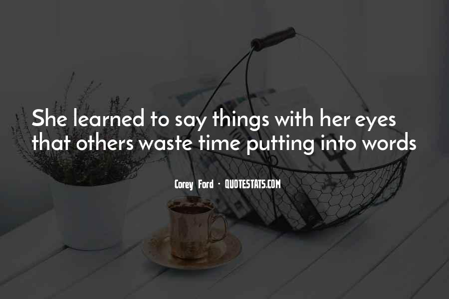 Corey Ford Quotes #28708