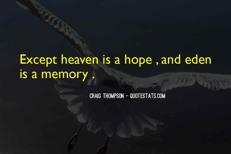 Craig Thompson Quotes #1051888