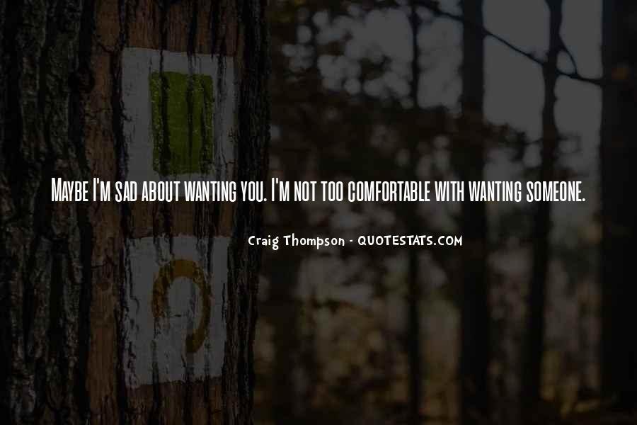 Craig Thompson Quotes #1313003