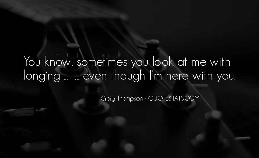 Craig Thompson Quotes #1461991