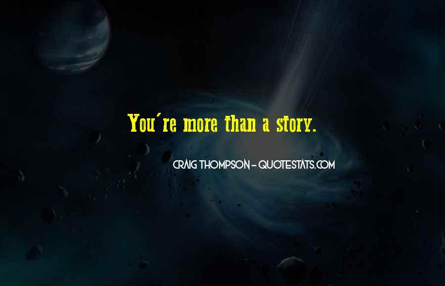 Craig Thompson Quotes #1503328