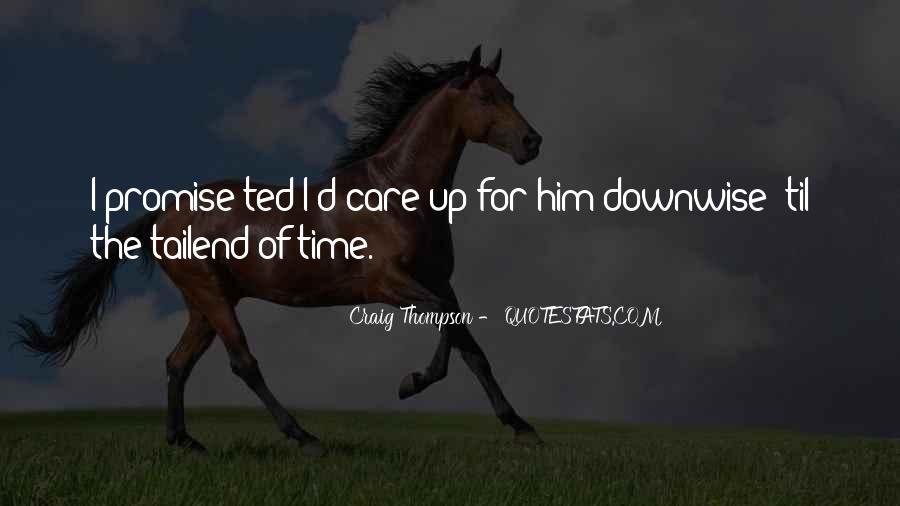 Craig Thompson Quotes #1508711