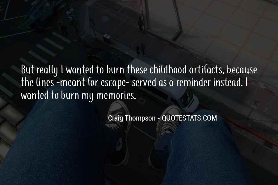 Craig Thompson Quotes #1593005