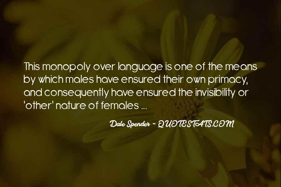 Dale Spender Quotes #6681