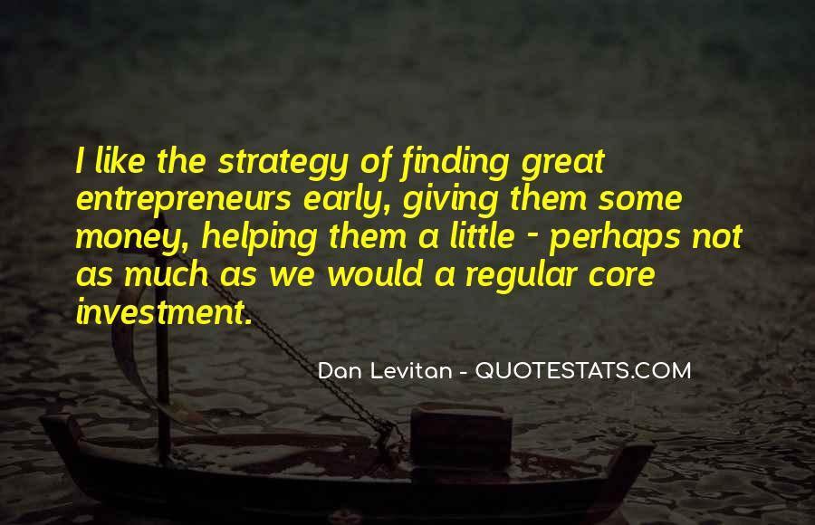 Dan Levitan Quotes #1055097