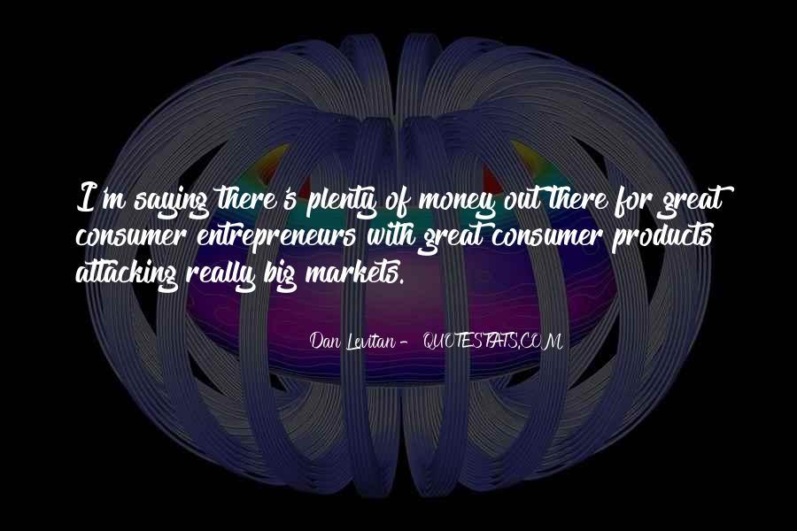 Dan Levitan Quotes #458310