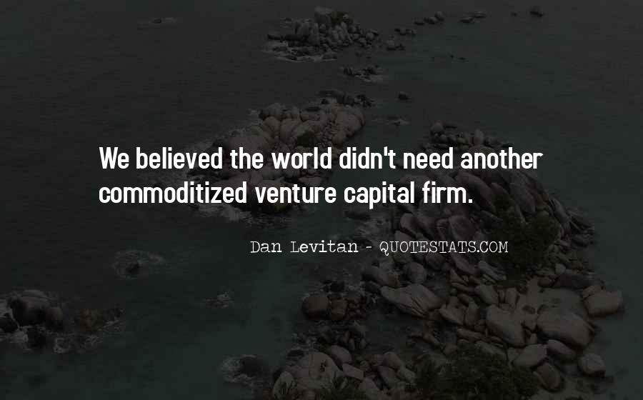 Dan Levitan Quotes #772880