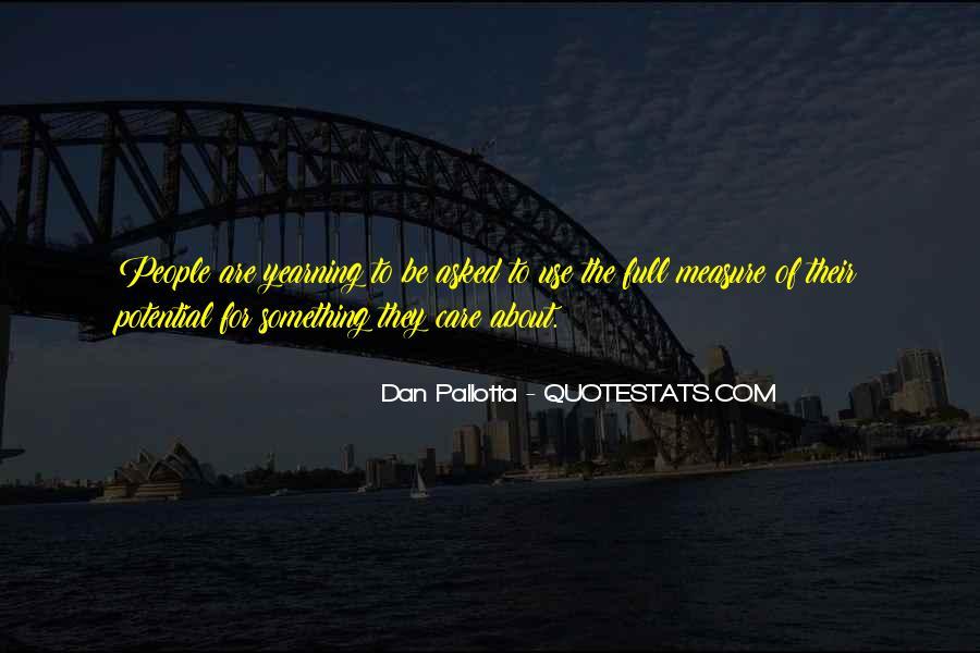 Dan Pallotta Quotes #113766