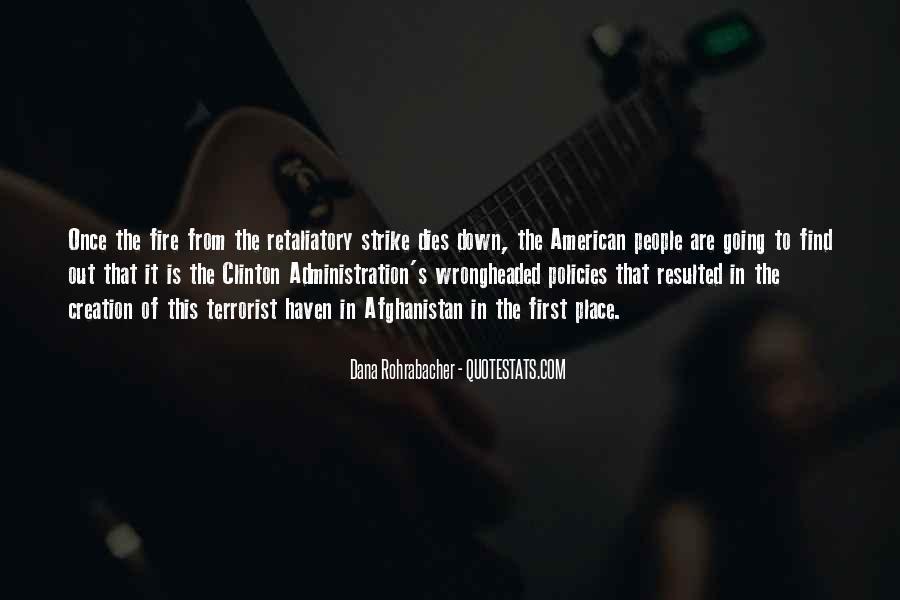 Dana Rohrabacher Quotes #77530