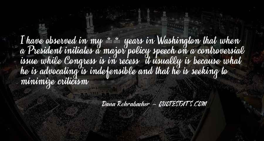 Dana Rohrabacher Quotes #859076