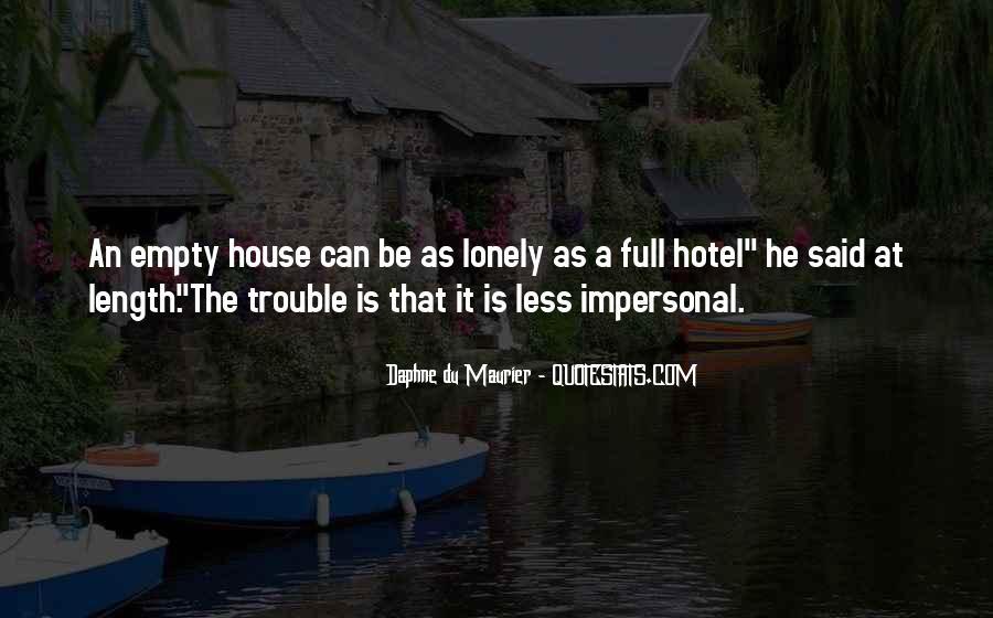 Daphne Du Maurier Quotes #246374