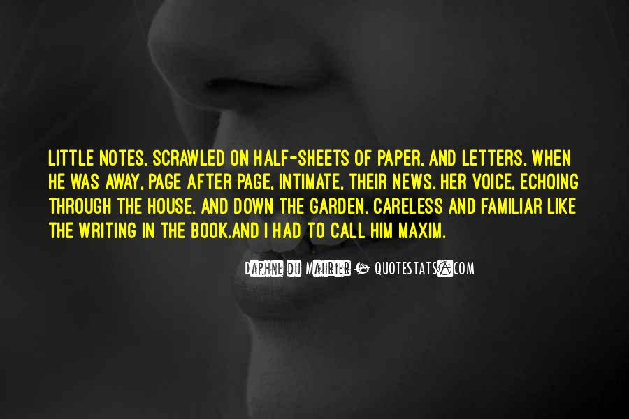 Daphne Du Maurier Quotes #299853
