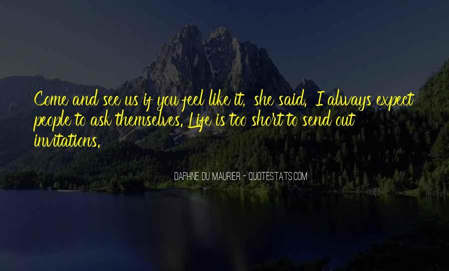 Daphne Du Maurier Quotes #404913