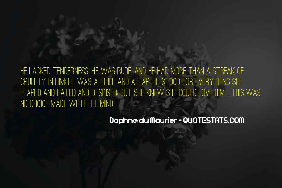 Daphne Du Maurier Quotes #508307