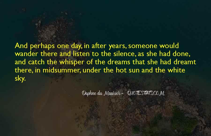 Daphne Du Maurier Quotes #658383