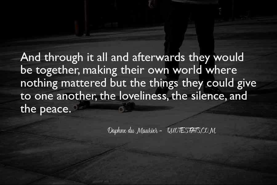 Daphne Du Maurier Quotes #697676