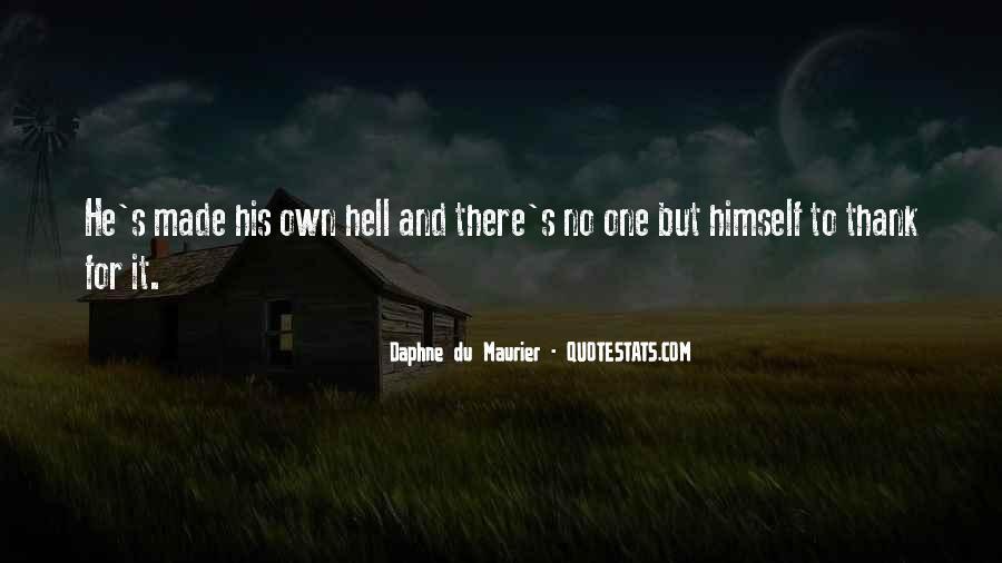 Daphne Du Maurier Quotes #772932