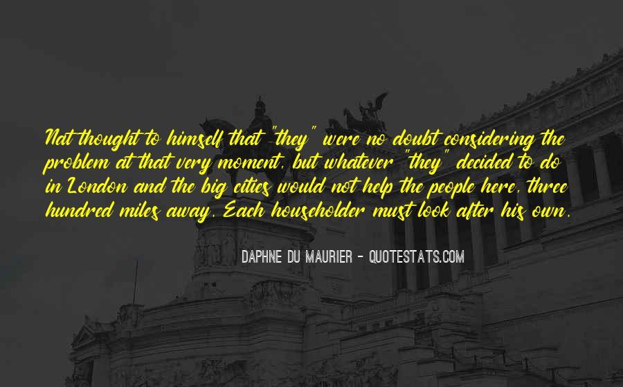 Daphne Du Maurier Quotes #804209
