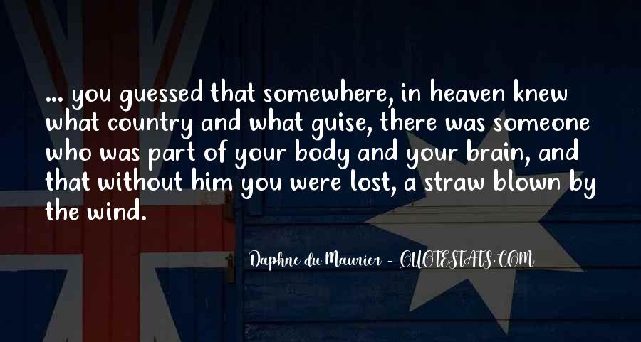 Daphne Du Maurier Quotes #910928