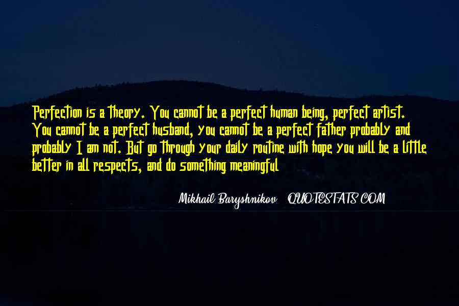 Quotes About Being Through #40704