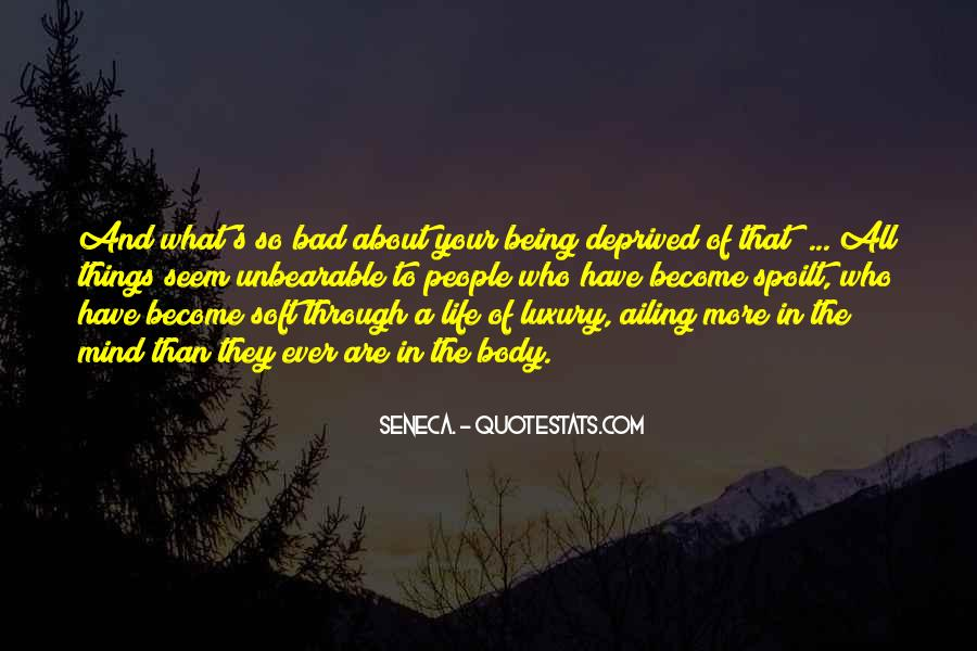 Quotes About Being Through #52984