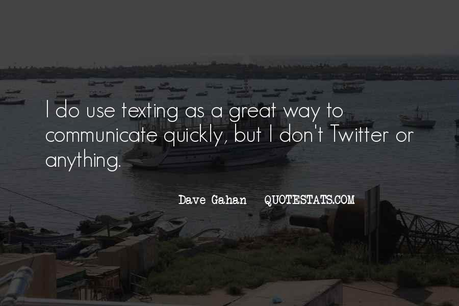 Dave Gahan Quotes #1213802
