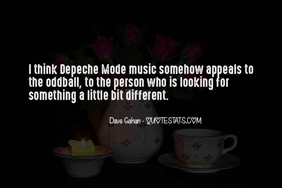Dave Gahan Quotes #838564
