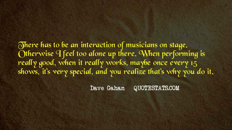 Dave Gahan Quotes #895481