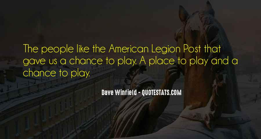Dave Winfield Quotes #1292693