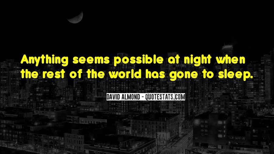 David Almond Quotes #1214096
