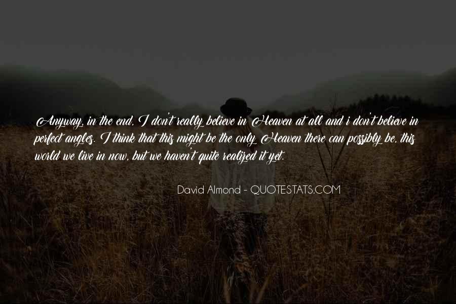 David Almond Quotes #1629261