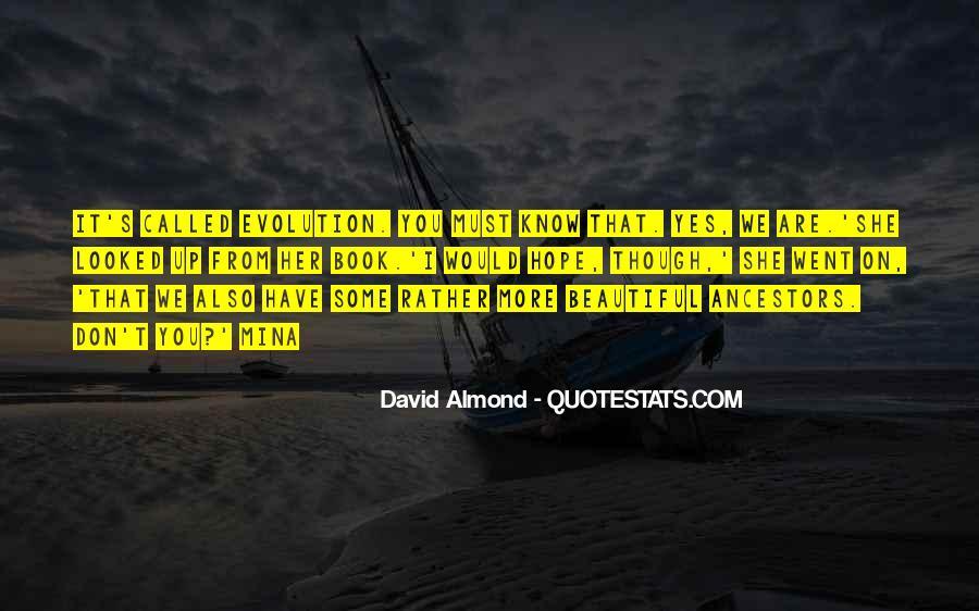 David Almond Quotes #1739290