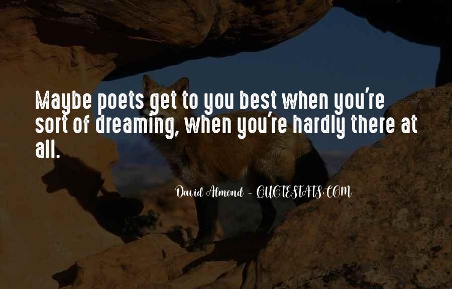 David Almond Quotes #176243