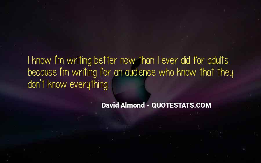 David Almond Quotes #1849610