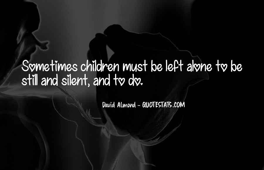 David Almond Quotes #305287