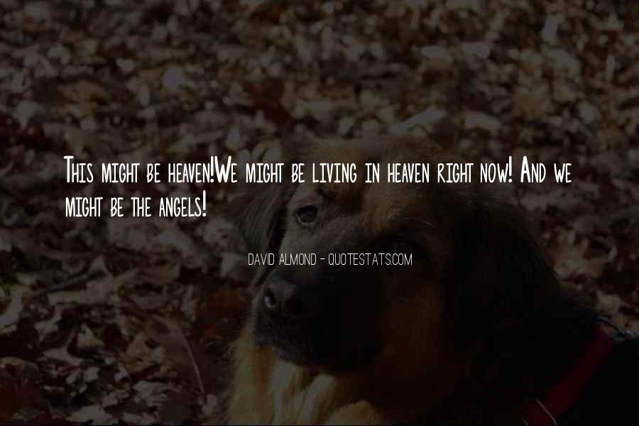 David Almond Quotes #306513