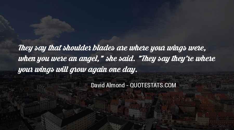 David Almond Quotes #409991