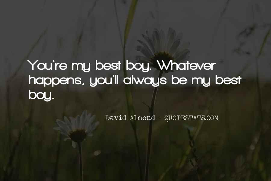David Almond Quotes #426157